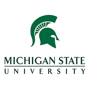 Michigan State University stacked logo